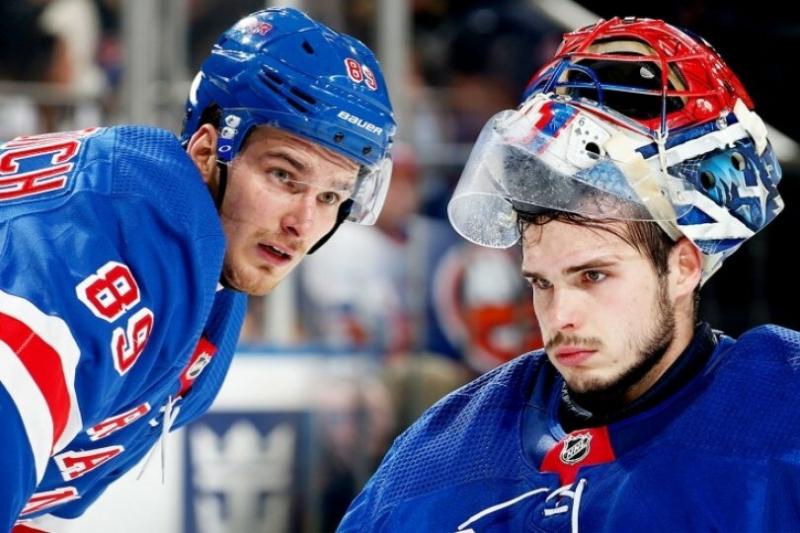 """Бучневич и Шестёркин выбывают из состава """"Рейнджерс"""" из-за травм.Игроки попали в автоаварию в Нью-Йорке."""