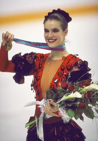 Где сейчас Олимпийская чемпионка фигуристка Катарина Витт