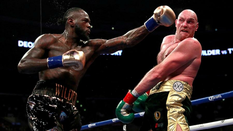 Лас-Вегас ждёт.22 февраля. Второй бой Уайлдер - Фьюри.Гонорары боксёров.Прогнозы на поединок.