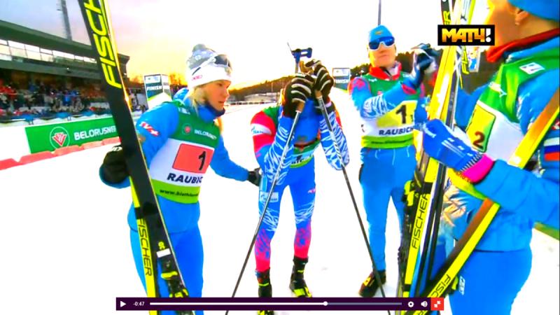 Сборная России выиграла серебро в смешанной эстафете на ЧЕ-2020 по биатлону