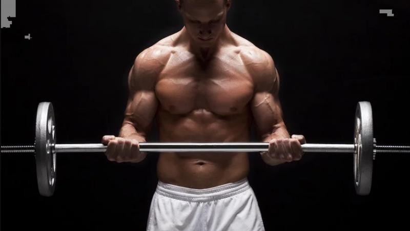 5 лучших упражнений со штангой для набора мышечной массы верха тела. Короткий обзор