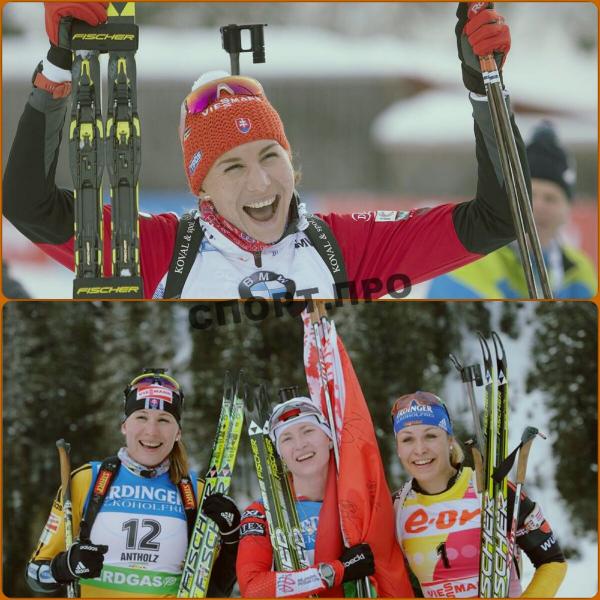 Биатлонистка Анастасия Кузьмина ушла из сборной России и стала дважды Олимпийской чемпионкой за Словакию