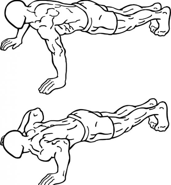 Используем собственный вес для тренировки верхней части тела. Тренировка верхней части тела для мужчин в домашних условиях.
