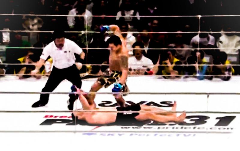 "Как ""Русский Молот"" уложил ""Скалу"" из UFC за 25 секунд"