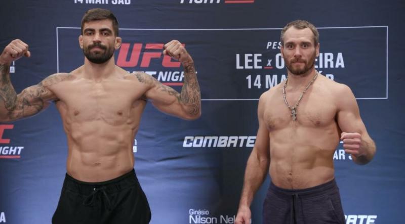 Кунченко сразился с Дос Сантосом на UFC Fight Night 170