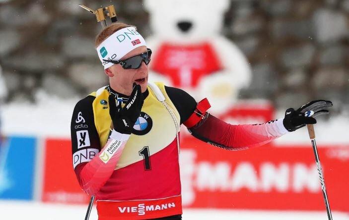 Логинов и Йоханнес Бё отреагировали на отмену этапа КМ по биатлону в Хольменколлене