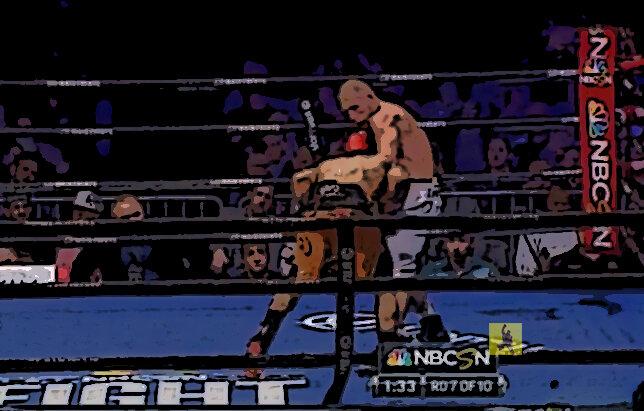 Непобежденный Русский Механик Дмитрий легко уделал американского боксера Рональда Круса. Красивый бой