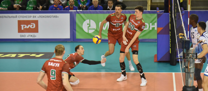 Новосибирский «Локомотив» – регулярный чемпион России по волейболe