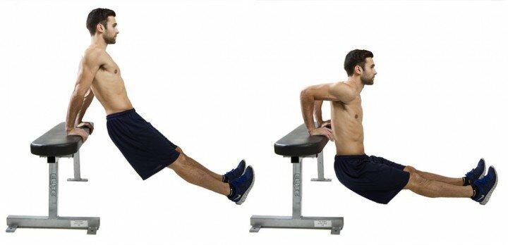 3 упражнения для прокачки трицепса дома