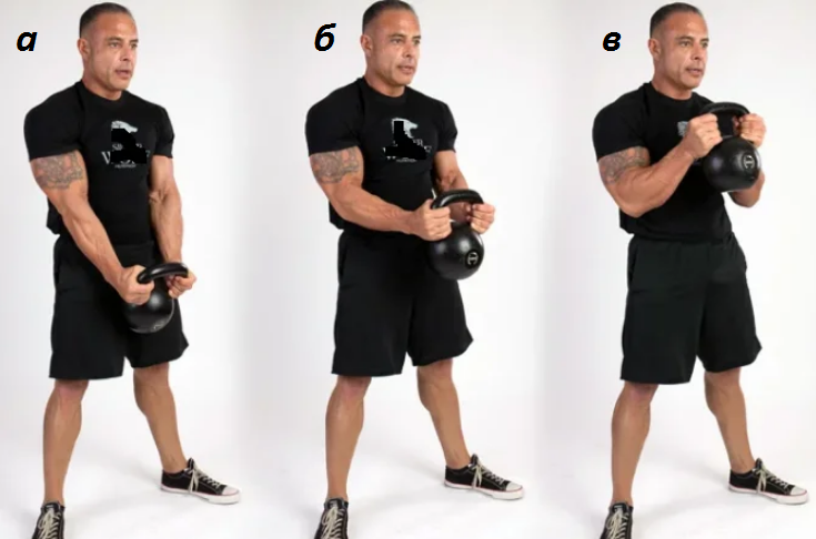 Как мощно прокачать верх тела гирей? 5 упражнений