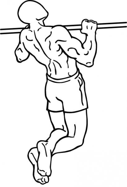 Лучшее упражнение для широкой спины