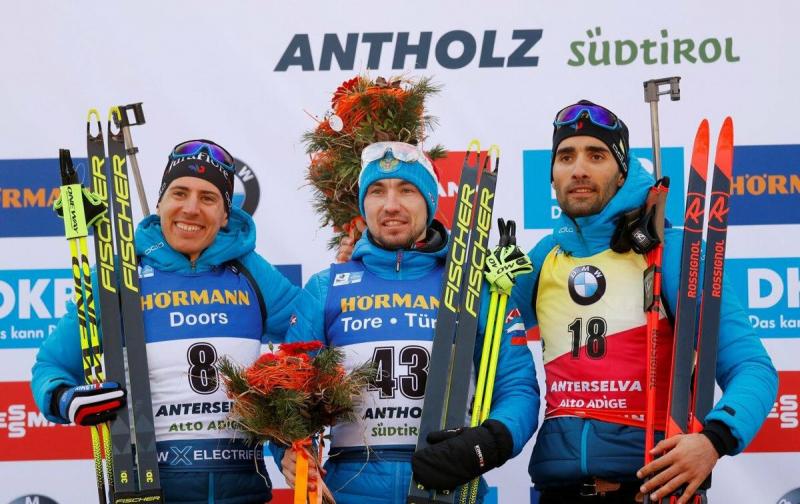 Новая французская биатлонная надежда о Логинове и его победе на Чемпионате Мира.