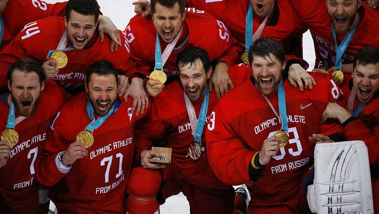 О том, как сборная КХЛ Олимпийские игры 2018 выиграла