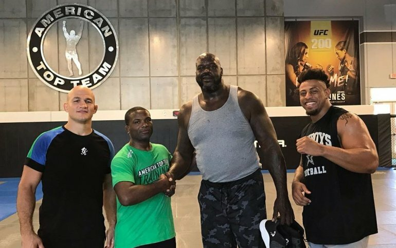 Шакил О'Нил объяснил успех в NBA тренировками в MMA