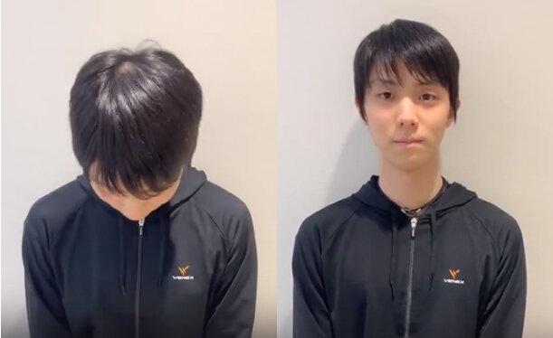 Видеообращение Юзуру Ханю к болельщикам и всему миру.