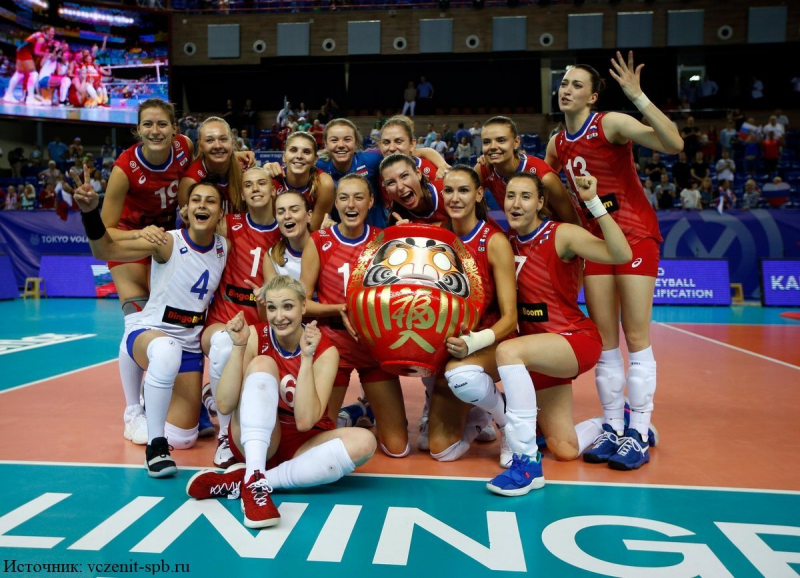 Волейбол. Состав женской сборной на Лигу наций