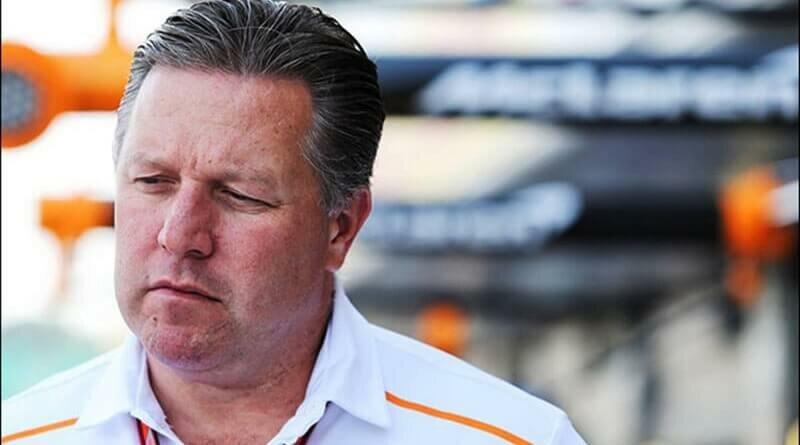 Зак Браун предполагает, что четыре команды могут покинуть Формулу-1