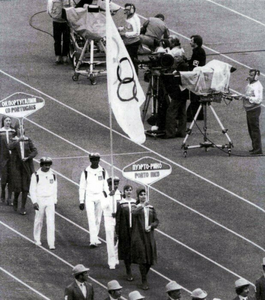 Олимпиада-80. Три американских гражданина.