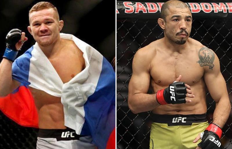 Петр Ян подерется с Жозе Альдо за титул UFC