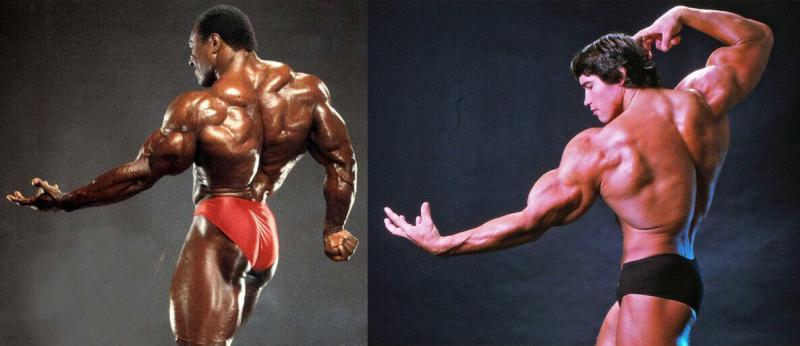 Сравнение Арнольда Шварценеггера и Ли Хейни. Кто был лучше?