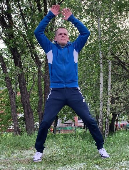 Тренировка со своим весом. Программа 9 упражнений.
