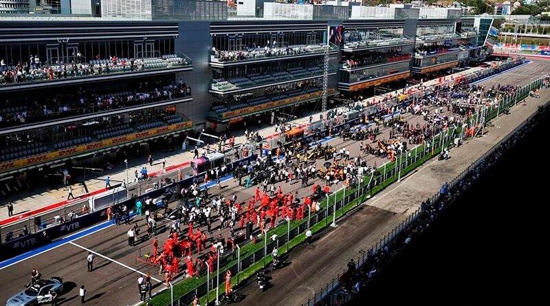Формула-1 рассматривает проведение двух гонок в России