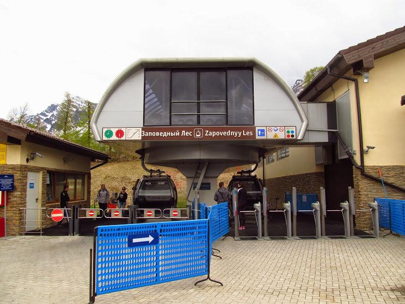 Красная Поляна. Построенный с нуля горнолыжный курорт к сочинской олимпиаде