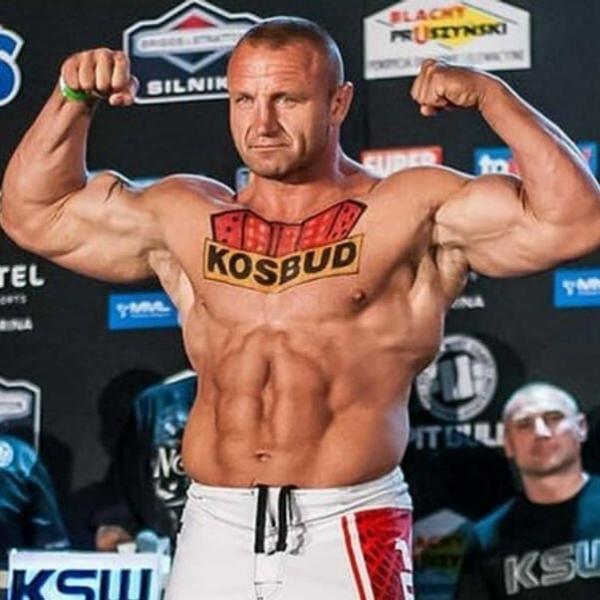 Мариуш Пудзяновский. Когда у тебя много денег и тебе скучно. 43-летний стронгмен возвращается в клетку MMA