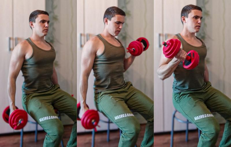 Мой топ 3 лучших упражнений для формирования бицепса
