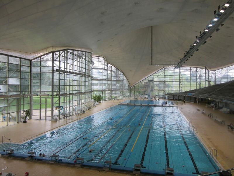 Поплавать в олимпийском бассейне