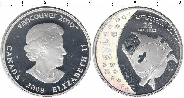Серия 25 долларовых монет к Олимпиаде в Ванкувере 2010