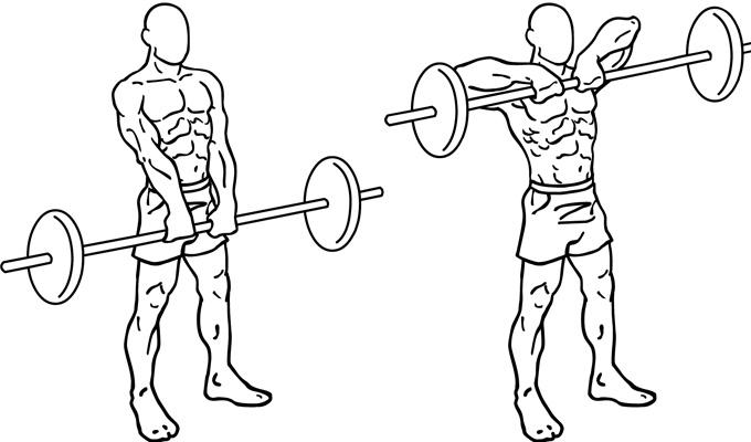 4 упражнения для раскачки эффектных трапеций!