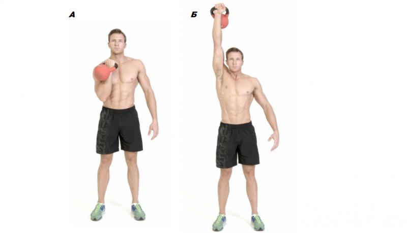 5 мощных упражнений с гирей. Чтобы прокачать все мышцы тела