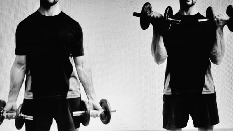 Как накачать мощные руки? 7 рабочих упражнений с гантелями