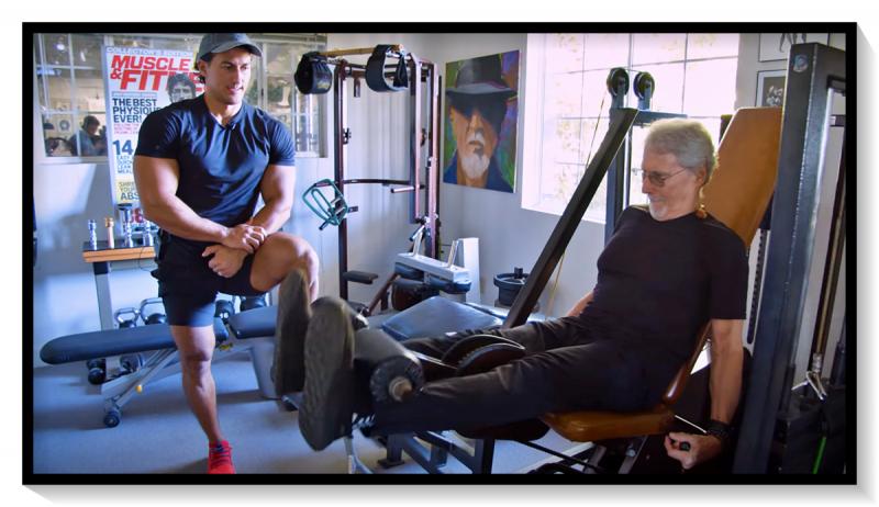 «Мистеру Эстетика» – 78! Как сейчас тренируется гуру бодибилдинга Фрэнк Зэйн?