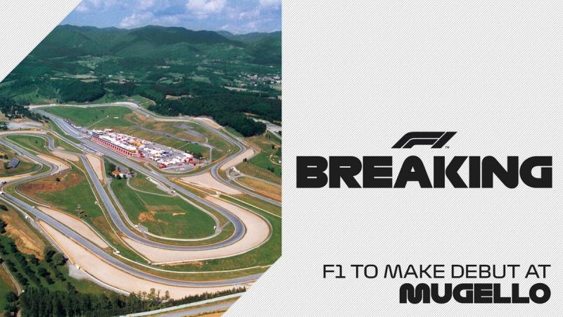 Муджелло и Сочи примут у себя этапы Формулы-1 в 2020 году