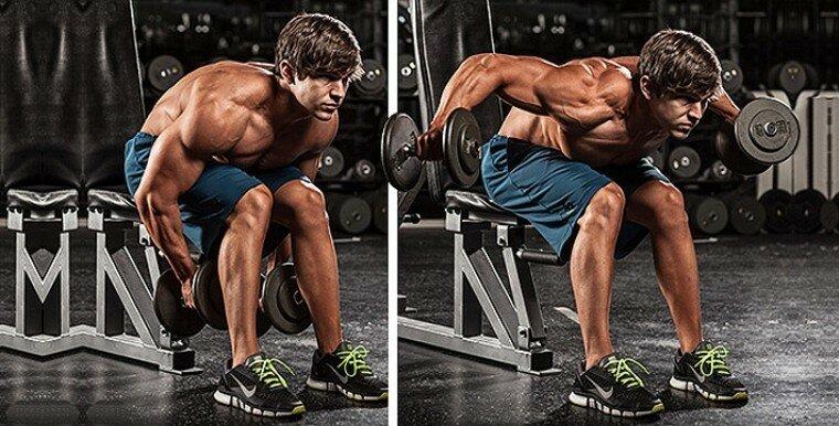 Объёмные плечи - суперсеты и лучшие упражнения. Научные данные