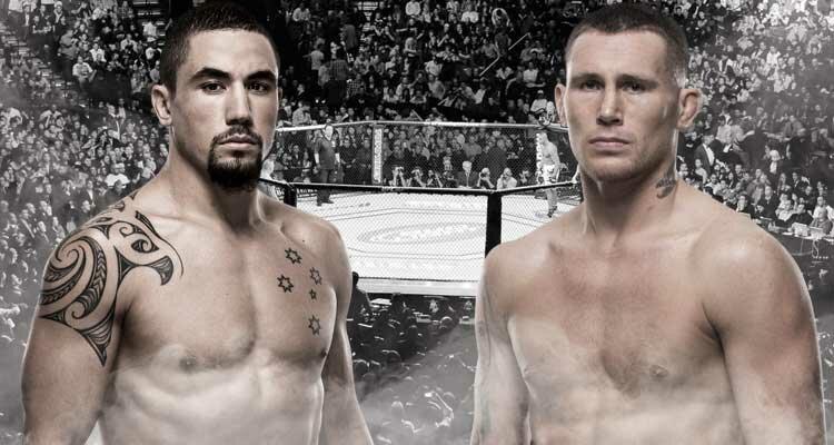 UFC подготовил очередную масштабную битву на острове: Уиттакер vs Тилл (шансы бойцов на титульник)