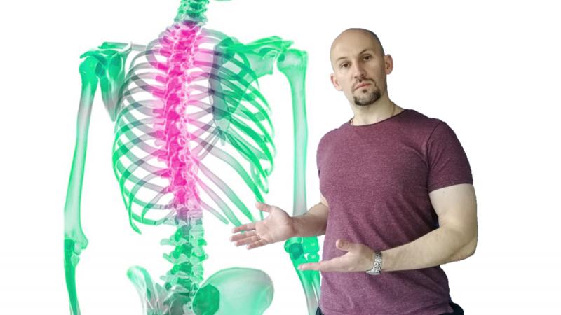4 упражнения для грудного отдела позвоночника, которые помогут убрать многие «болячки»
