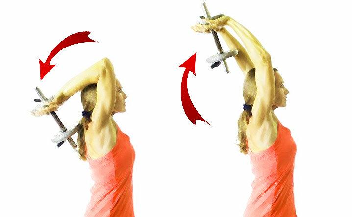 Я делаю это упражнение 1 минуту в день – и никакой дряблости рук!