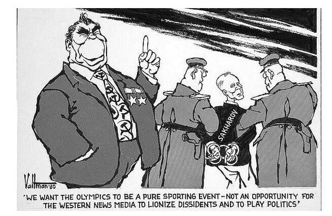 Как клеветали на Олимпиаду-80 зарубежные корреспонденты :)