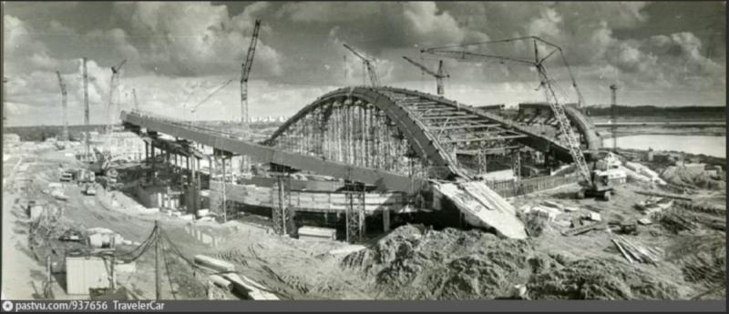 Как строили Велотрек в Крылатском к Олимпиаде-80?