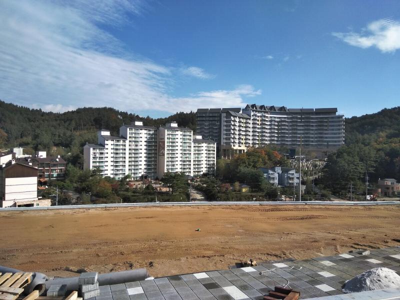Настоящая Альпийская деревня в Корее. Строим Олимпийские объекты