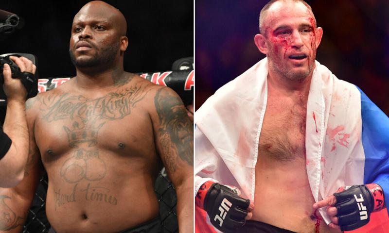 UFC вспомнил победные бои Олейника и Льюиса