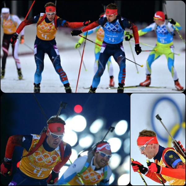Биатлон. Золотая эстафета россиян на Олимпиаде в Сочи. Как это было, давайте вспомним