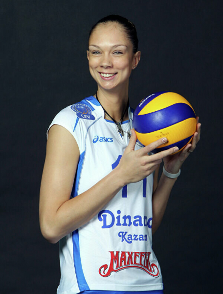 Екатерина Гамова - легенда российского волейбола.