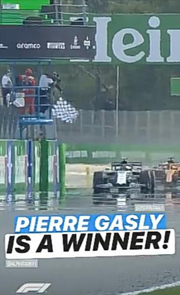 Пьер Гасли своей победой всё всем доказал, решение за Ред Булл