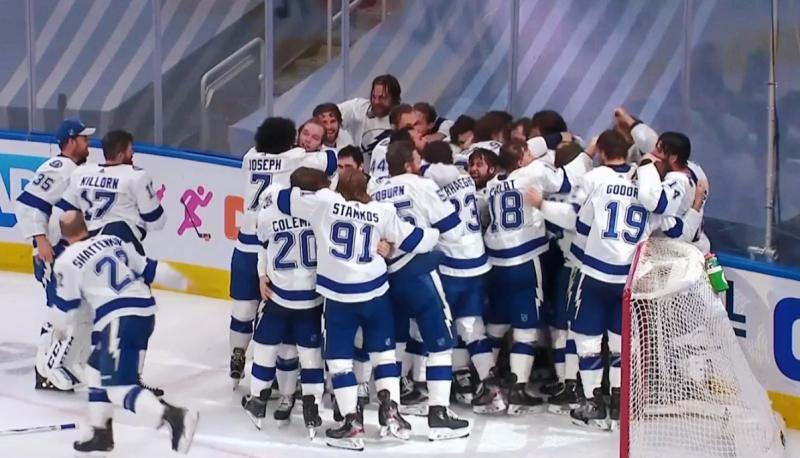 Тампа-Бэй выигрывает Кубок Стэнли НХЛ у Даллас Старз