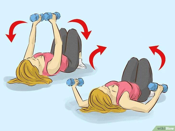 Упражнения, которые быстро уберут жир с рук и плеч в домашних условиях. Быстрый результат за 30 дней.