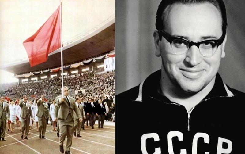 На олимпиаде 64-го, советский спортсмен нес флаг на вытянутой руке целых 25 минут. Рассказываю, как ему это удалось